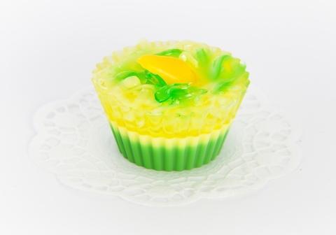Мыльное ассорти/пирожное: ГРУШЕВЫЙ ДЕСЕРТ, 80 гр/шт