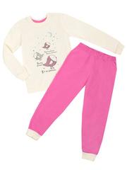 10963-1 пижама для девочек бежевая