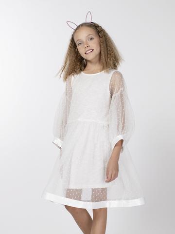 Нарядное платье для девочки (арт.29025)