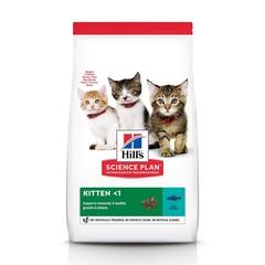 Hill's Science Plan сухой корм для котят для здорового роста и развития, с тунцом