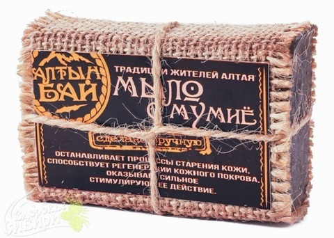 Мыло Алтын Бай С мумие, 80 г