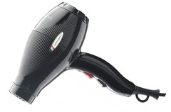 Фен Gamma Piu Ion Ceramic S Black. Мощность: 2000–2300 Вт.