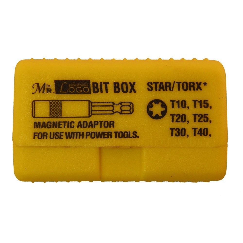 Н-р насадок-бит CR-V - 7 пр. (TORX T10 - T40) Mr.Logo SD-801B-AT