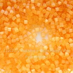 05183 Бисер Preciosa рубка 9/0, оранжевый сатин