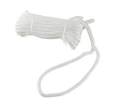 Трос швартовый Ø10 мм/ 10 м, белый