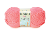 Пряжа Nako Baby Marvel леденец 260