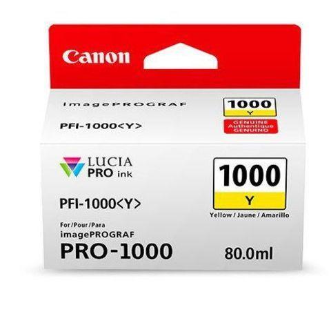 Картридж Canon PFI-1000 Y желтый (0549C001)