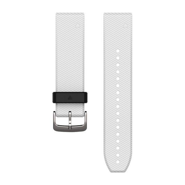 Силиконовый ремешок Garmin QuickFit 22 мм белый
