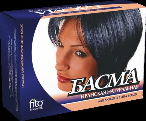 Фитокосметик Басма натуральная иранская 125г
