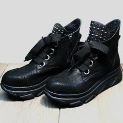 Ботинки женские весна Rifellini Rovigo 525 Black