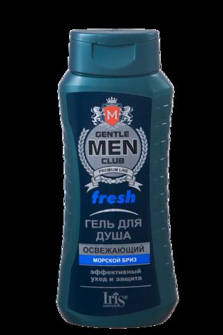 Iris Gentlemen club Гель для душа Fresh освежающий 400мл