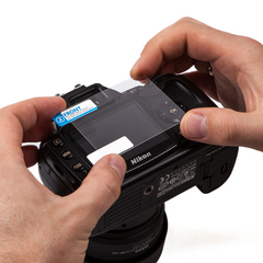 Набор защитных пленок JJC 2в1 для Nikon D7100