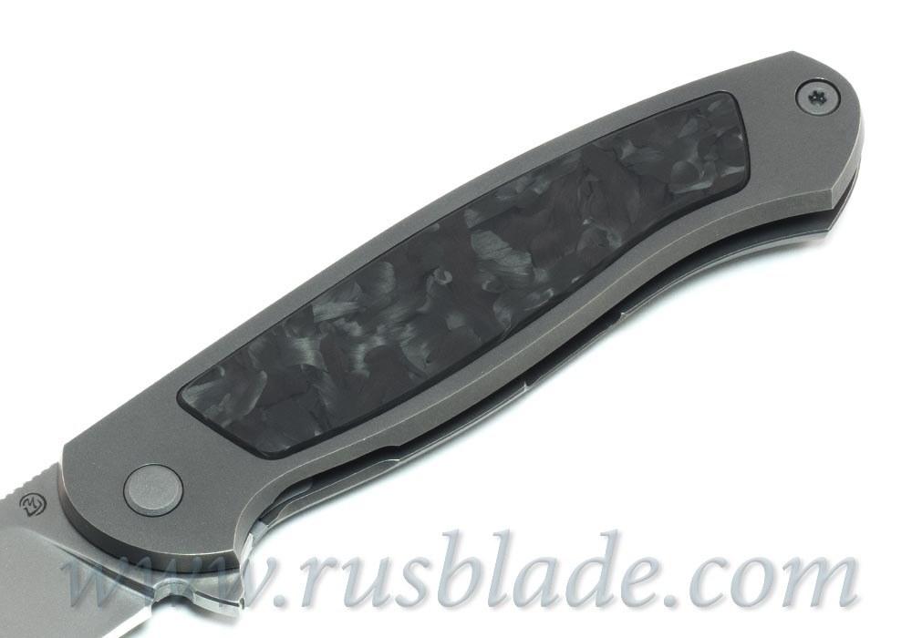 Cheburkov Scout M390 Figure chaotic carbon