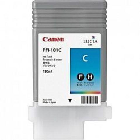 Картридж Canon PFI-101C cyan (голубой) для imagePROGRAF 5100/6100/6200