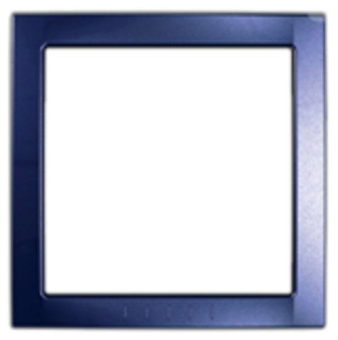 Рамка на 1 пост, декоративный элемент. Цвет Индиго. Schneider electric Unica. MGU4.000.42
