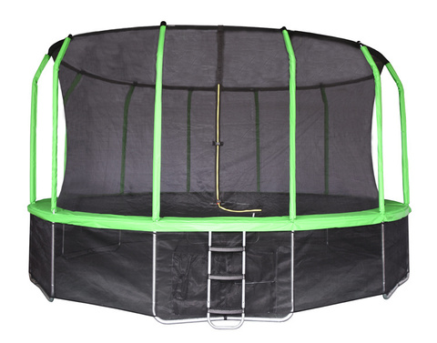 Батут Yarton 16 FT (4.88 м) зеленый