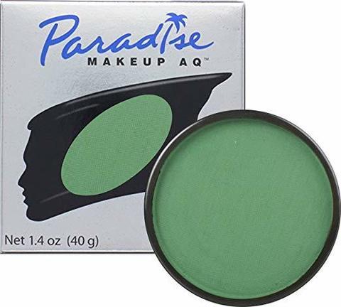 MEHRON Профессиональный аквагрим Paradise, Аквагрим Drk. Green (Темно-зелный), 40 г