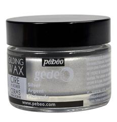 Воск (вакса) для золочения Gedeo 30 мл Цвет Серебро