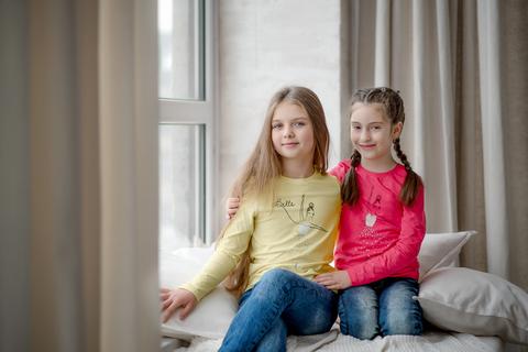 ФБ590 Лонгслив для девочки