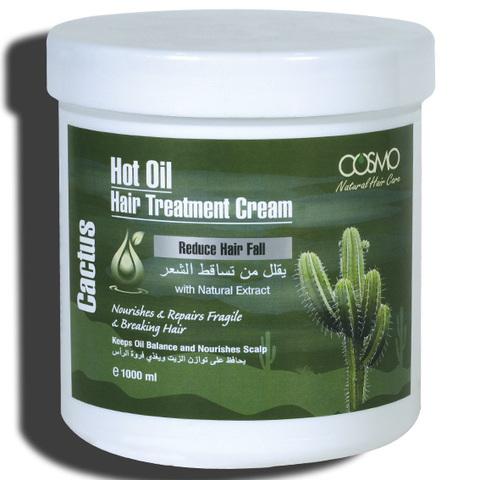 Крем для горячей обработки волос Кактус
