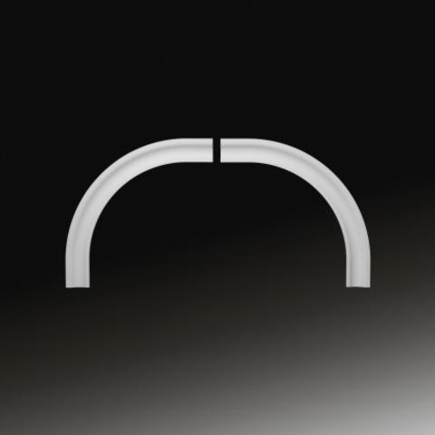 Арочное обрамление  Европласт из полиуретана 4.87.031, интернет магазин Волео