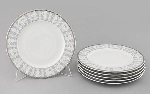 Набор тарелок мелких 25 см 6 штук Сабина Leander