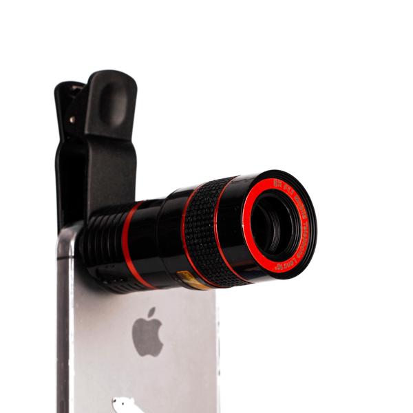 Универсальный Zoom-объектив для телефона (На зажиме)