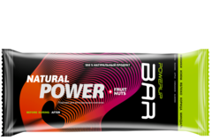 Батончик PowerUp Natural Power Bar Fruit & Nuts - финики, изюм, яблоко, корица, миндаль