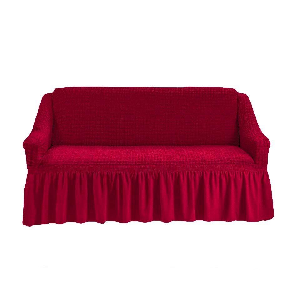 Диван цвет бордовый