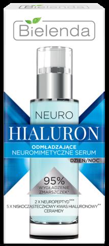 NEURO HIALURON Нейромиметическая омолаживающая сыворотка  дневная/ночная 30мл