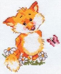 Набор для вышивания Алиса Лисенок