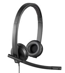 LOGITECH USB Headset H570e Stereo [981-000575]
