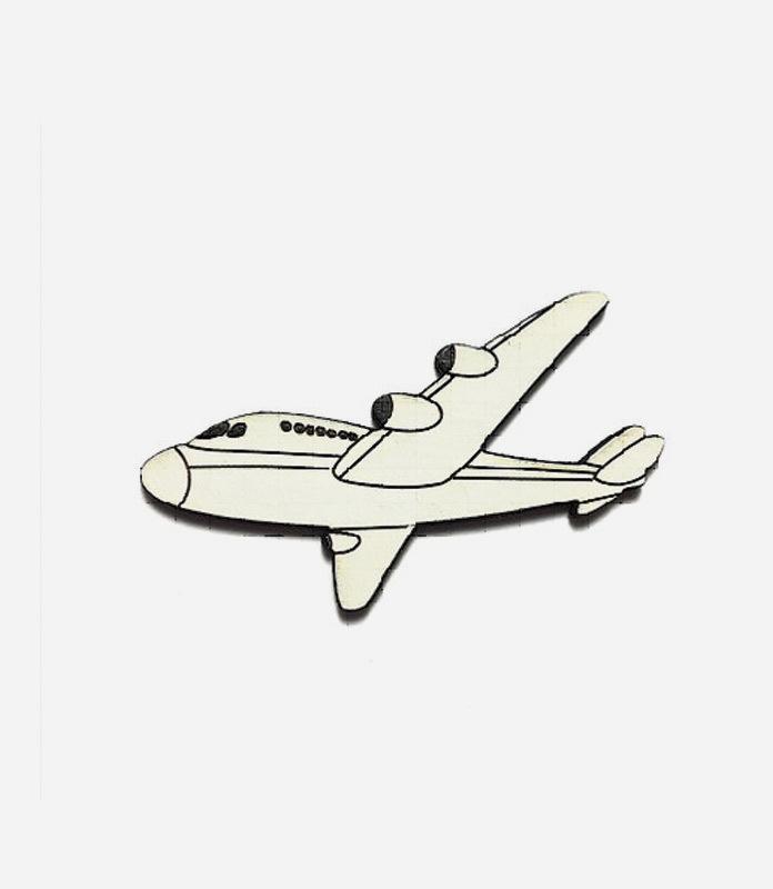 Брошь Самолет