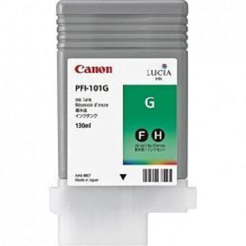 Картридж Canon PFI-101G green (зеленый) для imagePROGRAF 5100/6100/6200
