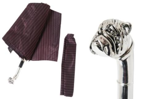Зонт складной Pasotti 64-1084-3-Handle Bulldog