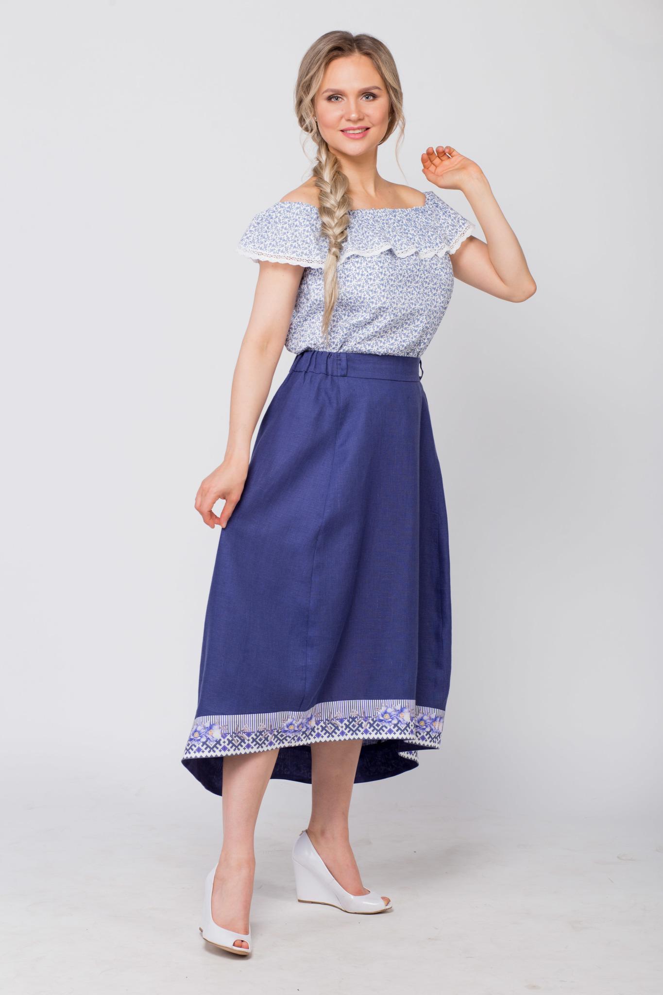 Блуза хлопковая Есения купить