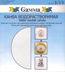 Канва Gamma водорастворимая 14 count