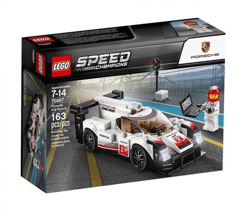 LEGO Speed Champions: Porsche 919 Hybrid 75887 — Porsche 919 Hybrid — Лего Спид чампионс Чемпионы скорости