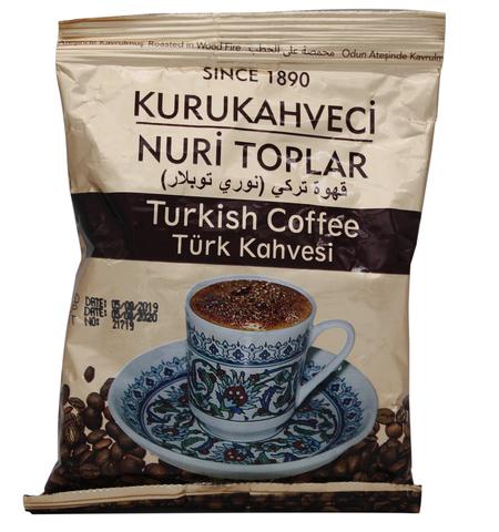 Турецкий кофе молотый, Nuri Toplar Turkish, 100 г