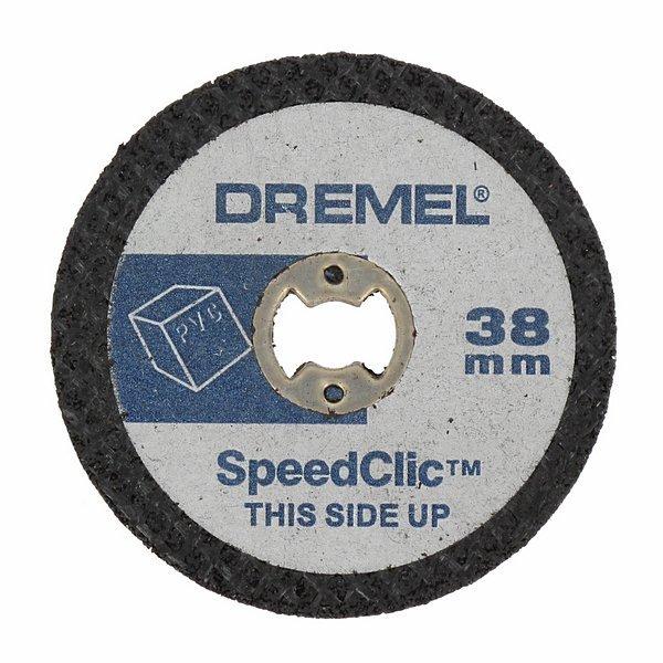 Отрезные круги по пластику SC476 38мм 5шт Dremel 2615S476JB