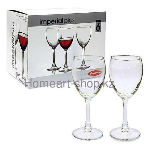 Бокалы для вина imperial plus 6*4 ;