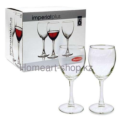44799/6 бокалы для вина imperial plus 6*4 ;