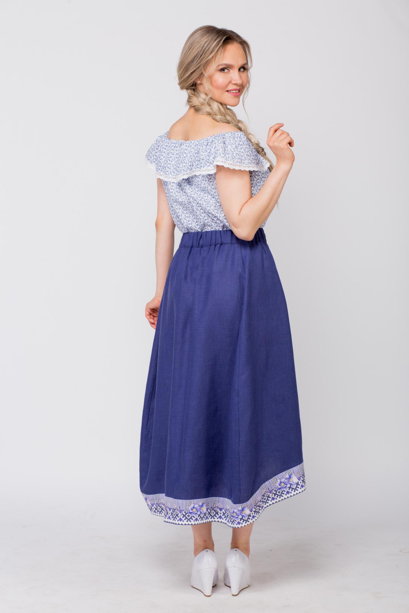 Блуза хлопковая Есения в интернет-магазине
