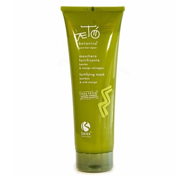 Маска для волос укрепляющая с экстрактом бамбука и дикого манго Barex Aeto Botanica Fortifying Mask Bamboo & Wild Mango 250мл