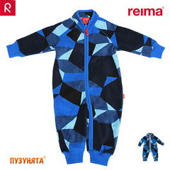 Флисовый комбинезон Reima Villi 516217-6877 denim blue