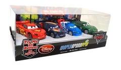 Cars 2 Light-Up Die Cast Car Set № 1