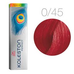 Wella Koleston Perfect Special Mix 0/45 (Красно-махагоновый) - Краска для волос