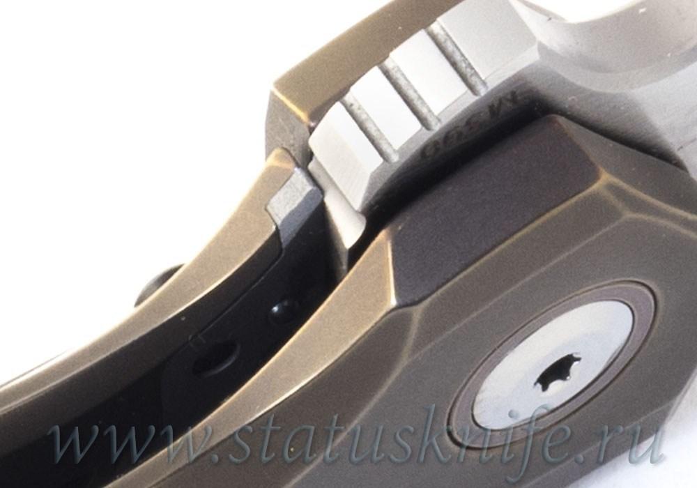 Нож CKF/TUFFKNIVES Switch (M390, титан+карбон+подшипники) - фотография