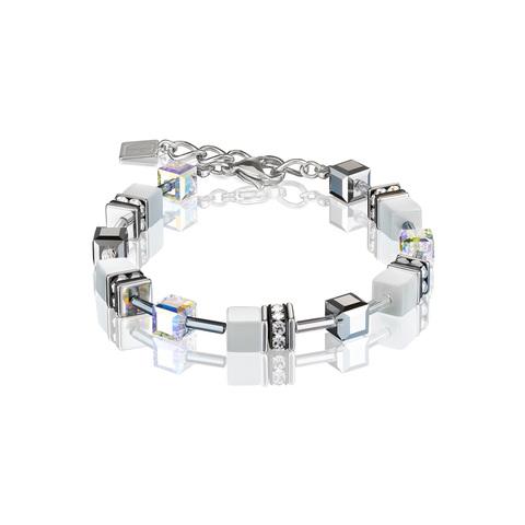 Браслет Coeur de Lion 4020/30-1400 цвет белый, серебряный