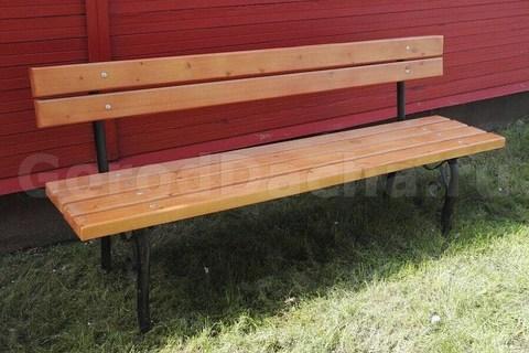 Скамейка садовая 2 м.